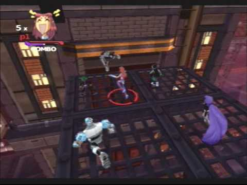 Teen Titans (PS2) - Smugglers Level - Part 1 (requested by theicecreamcooki)