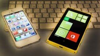 iPhone 5 против Lumia 920