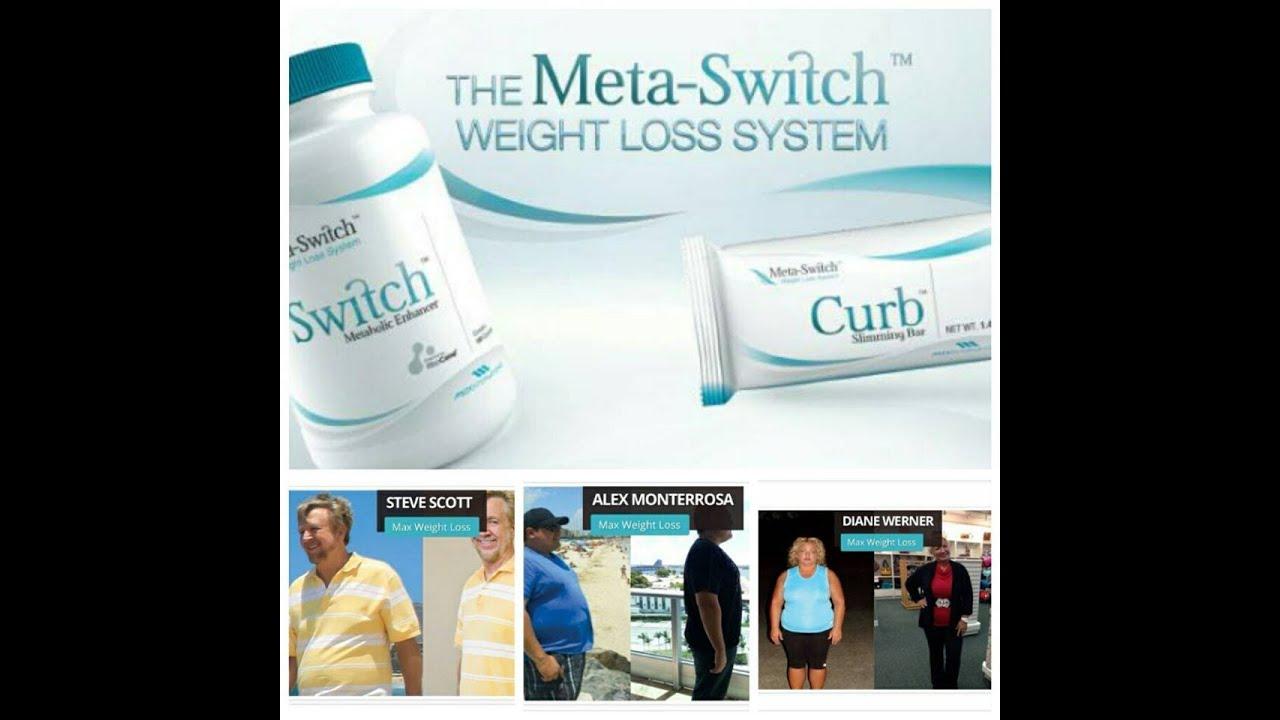 Pastillas para adelgazar Meta Switch sin dietas ni