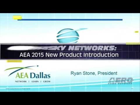 Aero-TV: SmartSky Networks - AEA 2015 New Product Introduction
