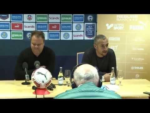 Henrik Larsson presenteras som ny tränare i HIF