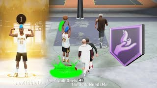 MY NBA 2K20 PLAYSHARP IS UNGUARDBALE AT THE PARK. BEST GUARD TAKES OVER NEIGHBORHOOD ON NBA 2K20