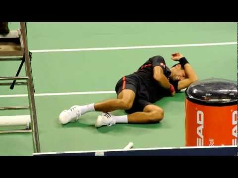 20120929 Djokovic Almagro Funny fighting in Taiwan
