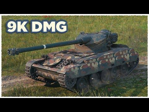AMX 13 105 • 9000 DAMAGE • Fadin • Kolobanov • WoT Gameplay