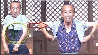 Cụ ông 72 tuổi 'thu nhỏ' cơ thể để mặc vừa áo của trẻ 3 tuổi...đó chưa phải là điều ngạc nhiên nhất