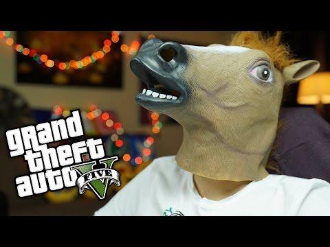 GTA 5 Online Serbest - AT HIRSIZLARI !!!