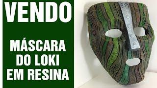 VENDIDO! Réplica da Máscara do Loki - Filme O Máscara (1994) LINK NA DESCRIÇÃO