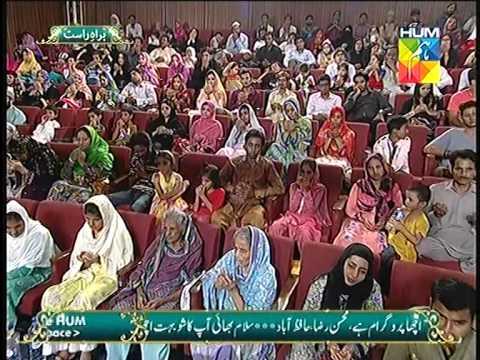 "Siddique Ismail Reciting ""DUA-HAMD""( KARAM MANGTA HOON  )Jashn e Ramazan HUM TV Show"