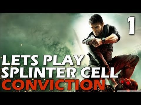 Lets Play: Splinter Cell Conviction - Merchant's Street Market (Episode 1)
