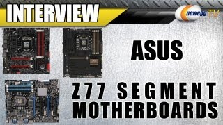 Newegg TV_ ASUS Z77 Segment Motherboards Detailed - Maximus V Gene, Sabertooth, P8Z77 WS