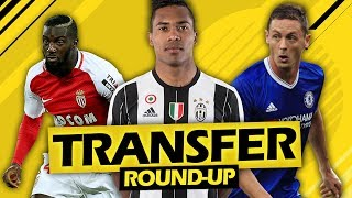 CHELSEA SIGNING TWO HUGE PLAYERS?! (TRANSFER ROUND-UP)