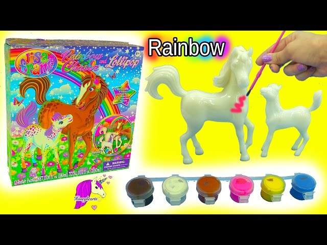 Paint horse video watch hd videos online without registration lisa frank do it yourself custom painting horses craft kit rainbow chaser lollipop solutioingenieria Choice Image