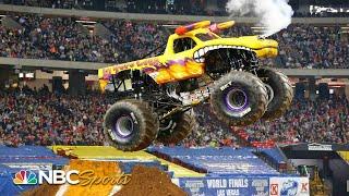 Monster Jam 2019: Atlanta, GA   EXTENDED HIGHLIGHTS   Motorsports on NBC