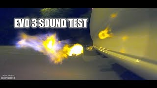 EVO 3 CE9A Sound and Speed Test