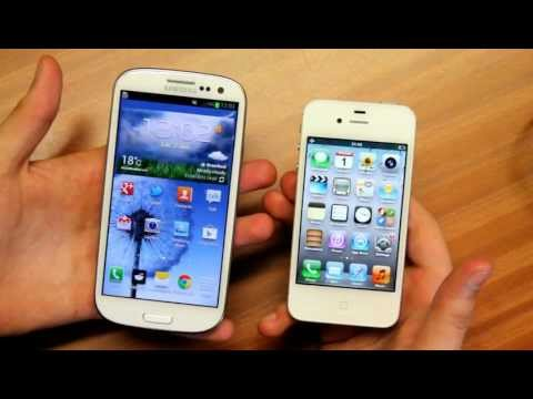 Samsung Galaxy S3 vs Iphone 4S Music Videos