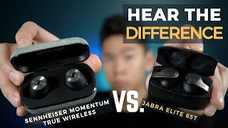 Jabra Elite 65t vs Sennheiser Momentum True Wireless Earbuds Comparison Review: SOUND vs Versatility