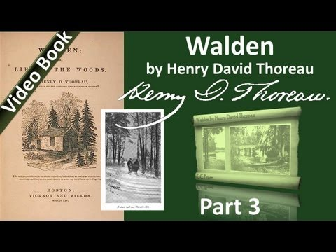 Part 3 – Walden Audiobook by Henry David Thoreau (Chs 05-08)