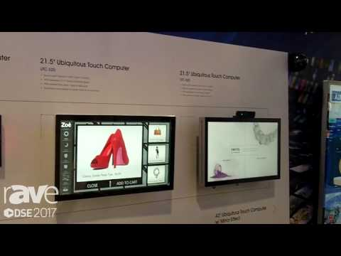 DSE 2017: Advantech Highlights Interactive All-in-One Displays For Digital Signage