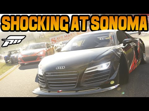 Forza 6 SOME SHOCKING DRIVING AT SONOMA