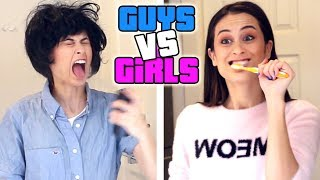 BOYS vs GIRLS: OCHTENDROUTINE!
