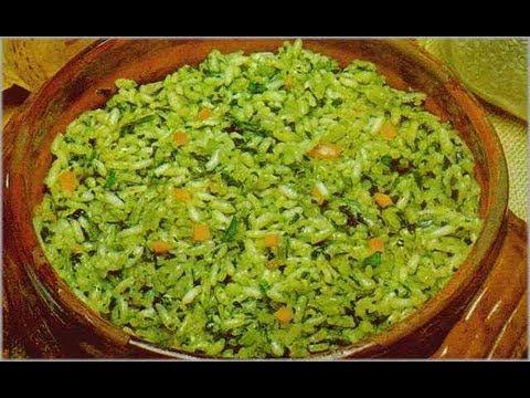 receta de Arroz Verde