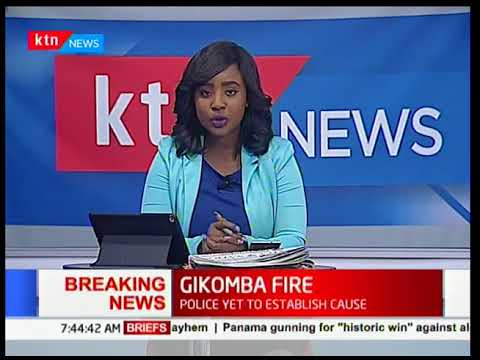 BREAKING NEWS: 30 injured as fire hits Gikomba Market