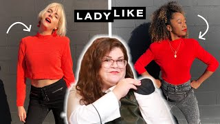 We Tried Styling Shoulder Pads • Ladylike