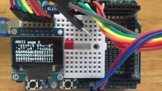 OLED SSD 1306 U8g2 GraphicTest