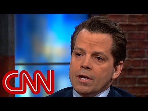 Scaramucci's Advice To Trump On Stormy Daniels