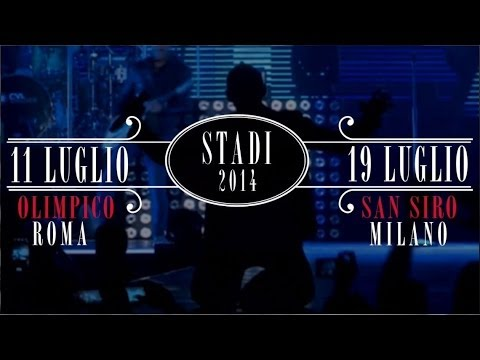 Modà Stadi 2014: 11 luglio Olimpico di Roma – 19 luglio San Siro, Milano