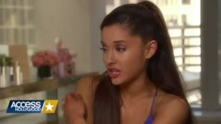 "Ariana Grande interview but everytime she says  ""you know what I mean"" or ""you know"" it gets faster"