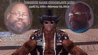 In memory of Derrick Dark Chocolate Jaxin