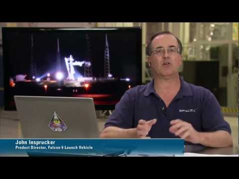 NASA/SpaceX Launch To Station -- SpaceX Webcast