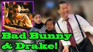 34 Mia 34 Bad Bunny Drake Singing In Public