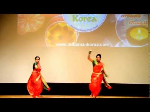 Aaika Dajiba - Marathi Dance Performed In Seoul South Korea video