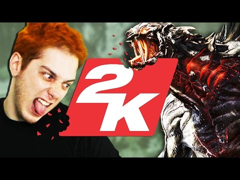 Evolve Sneak Peek At 2k Offices (smosh Games Field Trip) video