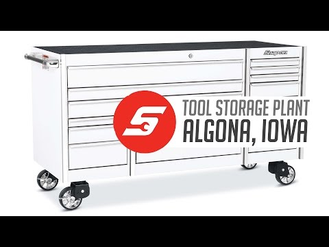 Algona, Iowa Tool Storage Plant | Pride in Manufacturing | Snap-on Tools