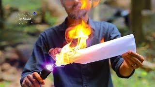 ഈ ടോർച് ഉപയോഗിച് തീ കത്തിക്കാം | ബൾബ് കത്തിക്കാം | Tricks with Electric torch |  tech
