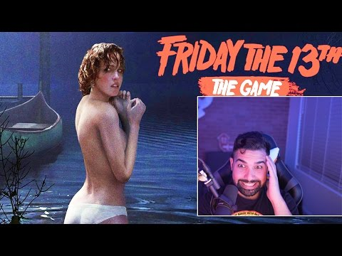 Friday The 13th The Game Gameplay LIVESTREAM!
