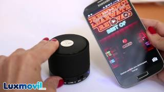 Luxmovil Unboxing. Mini Altavoz Bluetooth Reproductor MP3