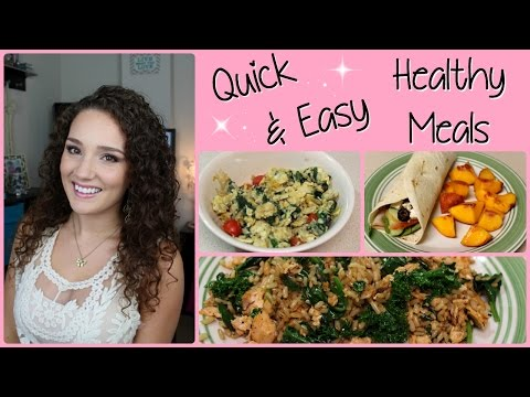 What I Ate Today: Quick & Easy Healthy Meals 7/11/14