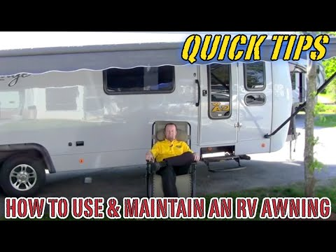 How to Use and Maintain a Camper Awning | Pete's RV Service Tips