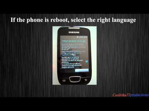 Samsung Galaxy Mini Overclock tutorial