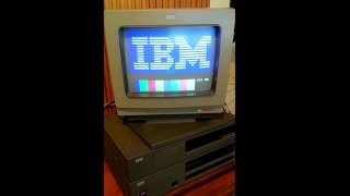 IBM JX 1984 - booting in 50