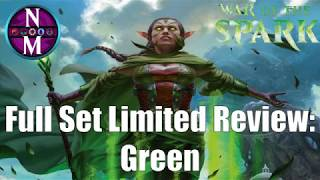 War of the Spark Limited Set Review:  Green