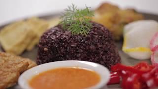 Nasi Liwet Beras Hitam ala Philips Digital Rice Cooker