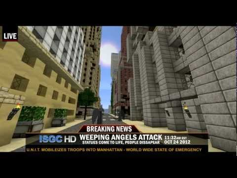 Breaking News - Weeping Angels Attack! - 8/27