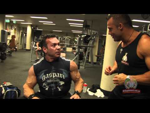 Rich Gaspari - Dumbbell Shoulder Press Image 1