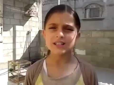 un message pour le monde de mayssam gaza palestine