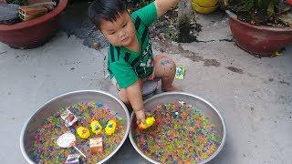 Đồ chơi trẻ em bé pin viên nhai minion ❤ PinPin TV ❤ Baby toys chewing gum